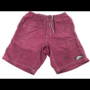 Vintage 90s NO FEAR nylon padded lined bike shorts